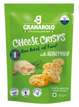 Granarolo Oven Baked CHEESE SNACK Rosemary