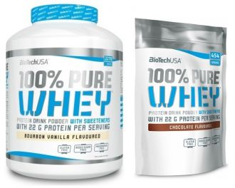 BioTech 100% Pure Whey Protein 2270g + 454g