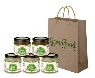 AKTIONEN 4+1 GRATIS GreenFood Nutrition ZERO BUTTER + Geschenktüte