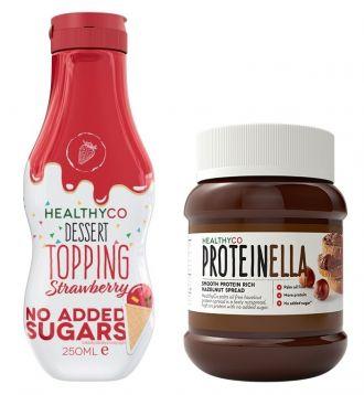 HealthyCo Proteinella + DESSERT TOPPING