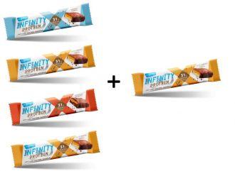 Max Sport Infinity Protein bar 4+1 GRATIS