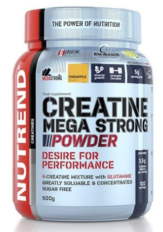 Nutrend CREATINE MEGA STRONG POWDER 500g 4+1 GRATIS