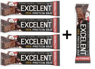 Aktion 4+1 Nutrend Excelent Protein bar