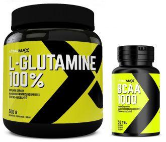 Vitalmax 100% L-GLUTAMIN + BCAA 1000