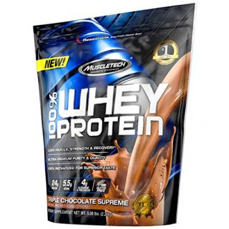Sicht - MuscleTech 100% Whey Protein Powder