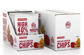 Nutrend HIGH PROTEIN CHIPS 6x40g