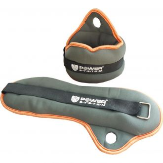 POWER SYSTEM Neoprene wrist loads 2 x 1kg