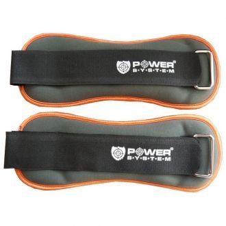 POWER SYSTEM Neoprene ankle loads 2x 1 kg