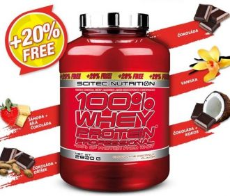 LIMIT EDITION Scitec 100% Whey Protein Professional 2820 g
