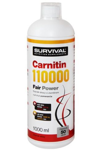 Survival Carnitin 110000 Fair Power