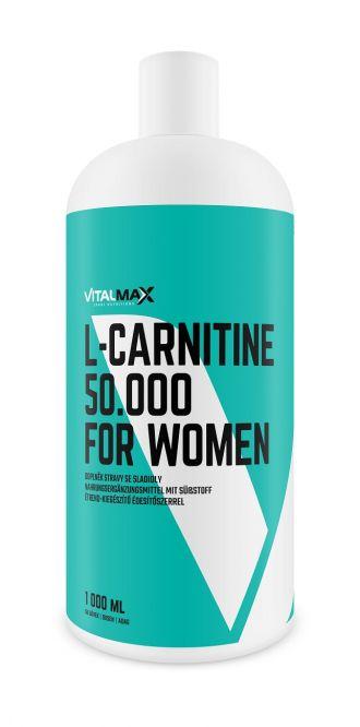 Vitalmax L-CARNITIN 50.000 For Women
