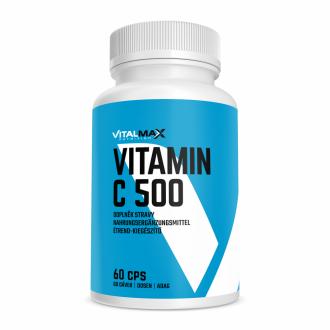 Vitalmax VITAMIM C 500mg mit Hagebutte