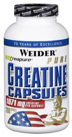 WEIDER Pure Creatine Capsules
