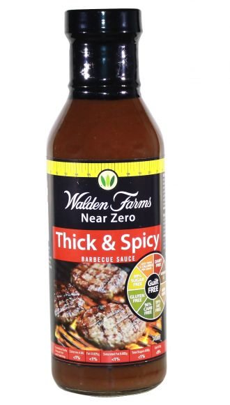 Walden Farms Barbecue Sauces Thick'n Spicy