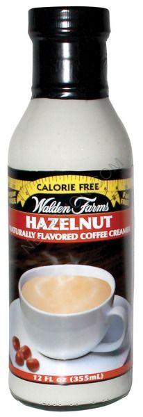 Walden Farms Coffee Creamers Hazelnut
