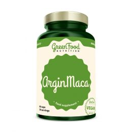 Sicht - GreenFood Nutrition ArginMaca vegan caps