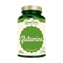 Sicht - GreenFood Nutrition Glutamin vegan caps