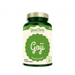 Sicht - GreenFood Nutrition Goji vegan caps