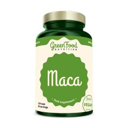 Sicht - GreenFood Nutrition Maca vegan caps