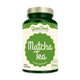 Sicht - GreenFood Nutrition Matcha Tea vegan caps