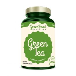 Sicht - GreenFood Nutrition Green Tea vegan Caps