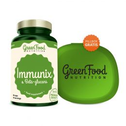 Sicht - GreenFood Nutrition Imunix mit Beta-Glucanen vegan caps