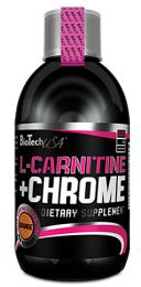 Sicht - BioTech L-CARNITINE + CHROME LIQUID