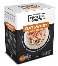 Sicht - BioTech Protein Gusto Oat and Whey With Fruits