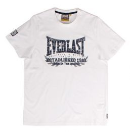 Everlast Tee Established White