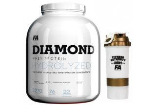 Sicht - Fitness Authority DIAMOND HYDROLYSED WHEY PROTEIN + FA Multi Active