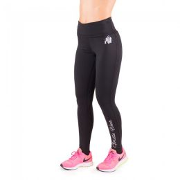 Sicht - GORILLA WEAR Annapolis Work Out Legging - Black