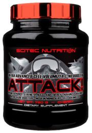 Sicht - Scitec Nutrition ATTACK 2.0