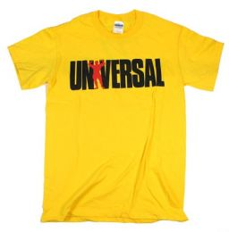 Universal triko T-Shirt 77 yellow